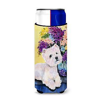 Carolines Treasures SS8291-Padres Westie Ultra Beverage Aislantes para lata delgada
