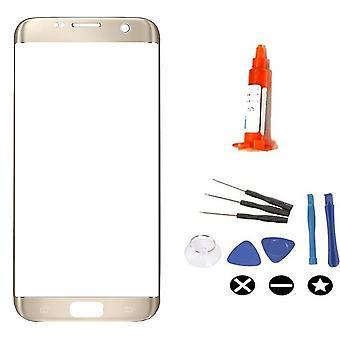 Pour Samsung Galaxy S7 Edge pour la réparation de verre kit-or
