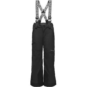 Spyder propulsie Boys REPREVE PrimaLoft pantaloni de schi negru
