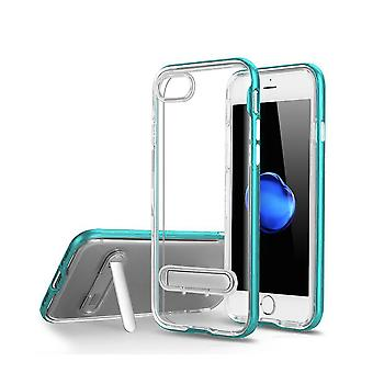 TPU Case with telephone stand + 2pcs screen Protector iPhone 7/8