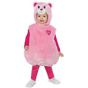 Toddlers Pink Cuddles Teddy Costume - Build a Bear