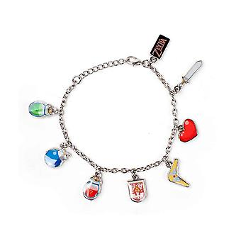 Zelda Charm Bracelet Windwalker new Official Nintendo Jewellery