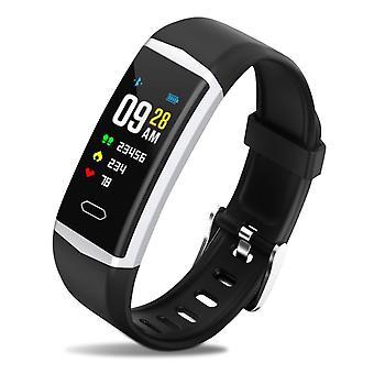 B5 Sport Smart Watch Activity Tracking IP68 Waterproof- Lemonda, Black