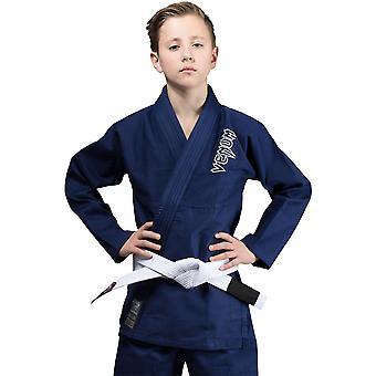 Venum Kids Contender Brazylijski Jiu-Jitsu Gi - Granatowy