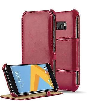 Cadorabo Hülle für HTC 10 Case Cover - Handyhülle OHNE Magnetverschluss mit Standfunktion und Eckhalterung - Hard Case Book Etui Schutzhülle Tasche Cover