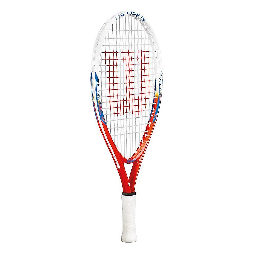 Wilson US Open Junior Tennis Racket Racquet White/Blue/Red (No Headcover) - 21
