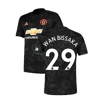 2019-2020 Man Utd Adidas Third Football Shirt (Wan Bissaka 29)