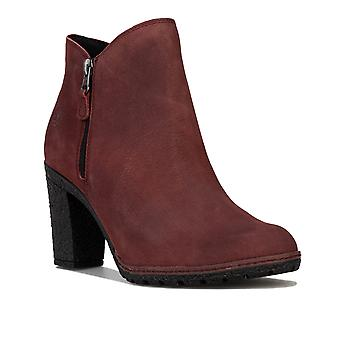 Womens Timberland Tillston zip Ankle Boots em chocolate amargo