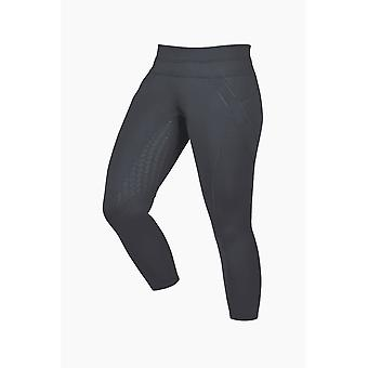 Dublin Performance Womens Thermal Active Riding Tights - Charcoal
