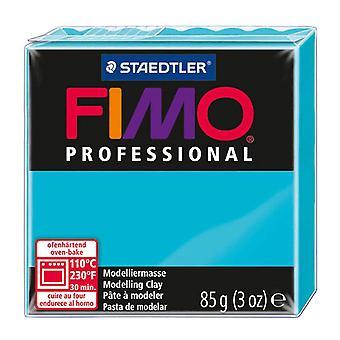 Fimo Professional Modeling Clay, turquesa, 85 g