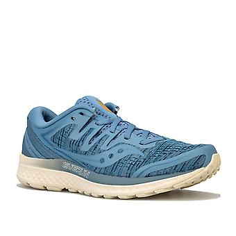 Womens Saucony Guide Iso 2 Running Shoes In Blue Shade