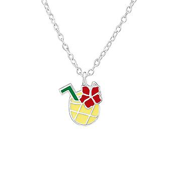Pineapple Juice - 925 Sterling Silver Necklaces - W38636X