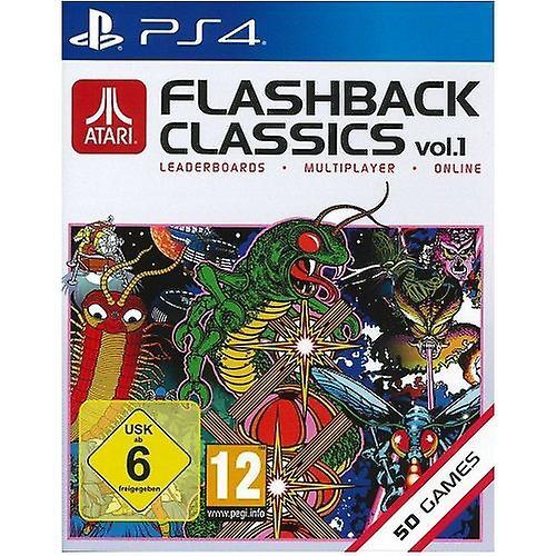 Atari Flashback Classics Collection Vol 1 PS4 Game