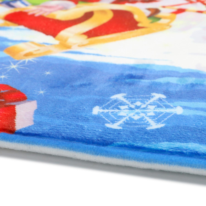 XMAS CARPET BLUE