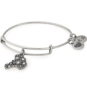 Alex And Ani Words Are Powerful I Pick You Silver Charm Bangle - A18BRID03RS