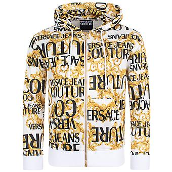 Versace Jeans Couture All Over Print Zip-Through Hoodie