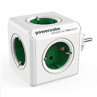 Cubo multiplugs Allocacoc 100-250 V 13-16A Bianco