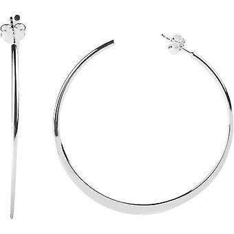 Earrings Clio Blue BO1292 - earrings silver timeless woman