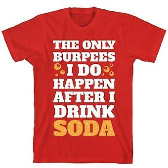 T-shirt Soda burpees