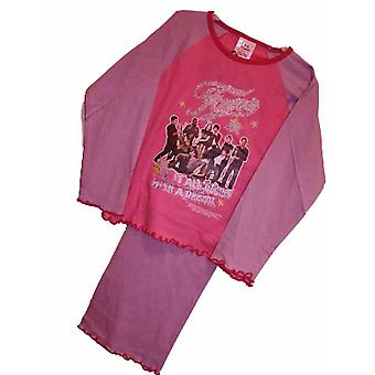 Fame Kids Girls Cotton PYJAMAS Dream 3-4 Pink