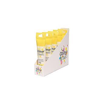Farve splash gel-citron-25g X 5