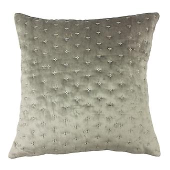 Riva Home Moonlight Cushion Cover with Geometric Embroidery Design