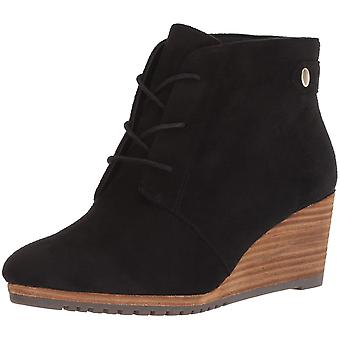 Dr. Scholl's Shoes Womens Conquer Suede Closed Toe Ankle Fashion Boots