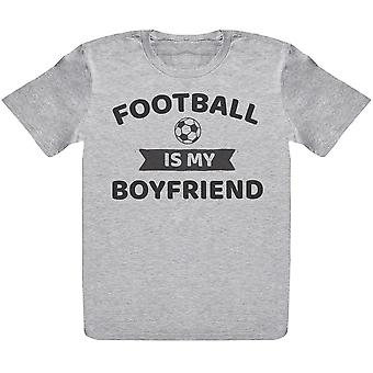Football Is My Boyfriend- Kids T-Shirt