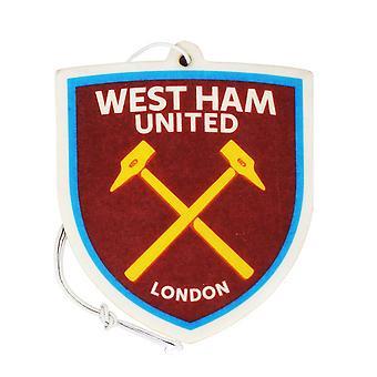 West Ham FC Official Football Crest Car Air Freshener