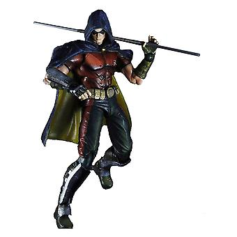 Batman Arkham City Robin Play Arts Action Figur