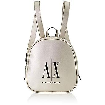 ARMANI EXCHANGE 9425630P198 Handbag/Silver Backpack (SILVER - SILVER 09117)) 27x9x24 cm (B x H x T)