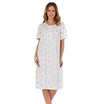 Slenderella ND55116 Women's Floral Nightdress