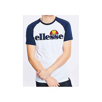 Ellesse Piave Biały Marl Bawełna T-shirt