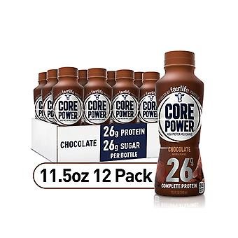 Core Power Chocolate Milkshake-( 414 Ml X 12 Bottiglie )