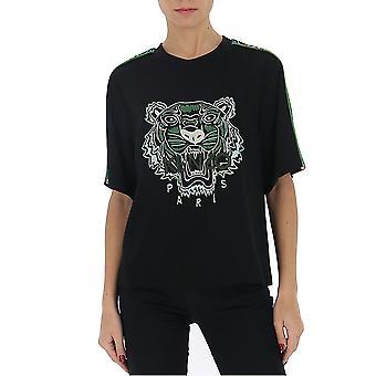 Kenzo Fa52to17655ac59 Women's Black Cotton T-shirt