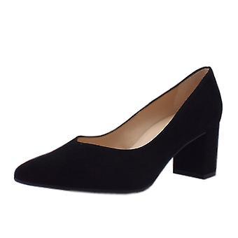 Peter Kaiser Naja trendikäs lohko kantapää huomautti toe tuomioistuin kengät musta mokka