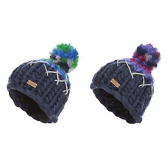 Trespass Childrens/Kids Ellery Bobble Hat