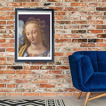 Leonardo Da Vinci - Madonna with clove Poster Print Giclee