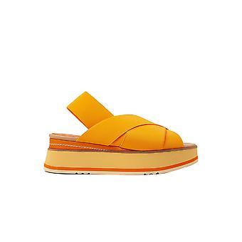 Paloma Barceló Tobagoorange Women's Orange Fabric Sandals