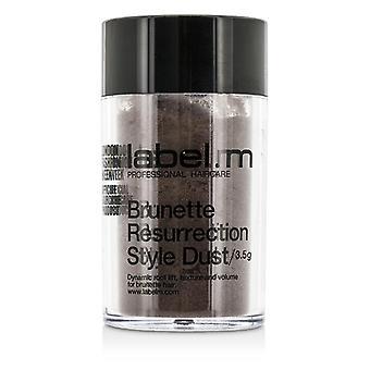 Label.M Brunette Resurrection Style Dust (Dynamic Root Lift, Texture and Volume For Brunette Hair) 3.5g/0.12oz