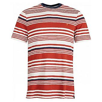 Farah Pinsley camiseta de rayas