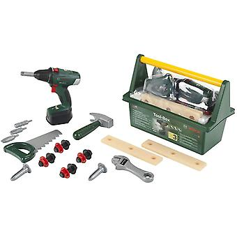 Theo Klein Bosch Large Tool Box with Cordless Drill For Ages 3+ and Above