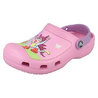 Dziewczyn Dora Explorer Crocs
