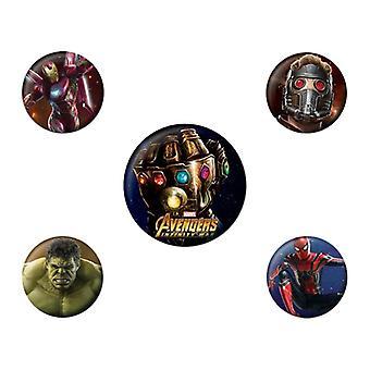Avengers Infinity-krigen, 5x pins