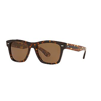 Oliver Peoples Oliver Sun Dark Tortoise/Polarised Brown Frames Sunglasses