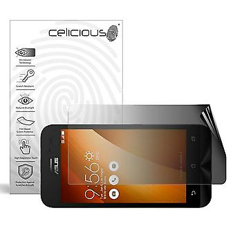Celicious Privacy 2-Way Landscape Anti-Spy Filter Screen Protector Film Compatible with Asus Zenfone Go ZB452KG
