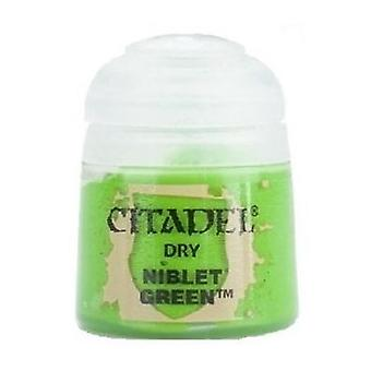 Niblet Green, Citadel Paint - Dry, Warhammer 40,000/Age of Sigmar