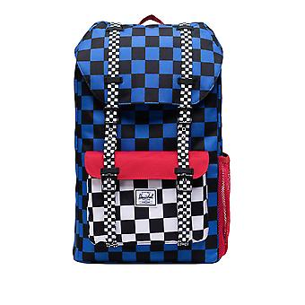 Herschel Supply Co. Kids' Little America Youth Backpack Check -Red 43Cm