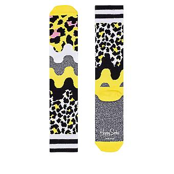 Happy Socks Women's Athletic Animal Socks