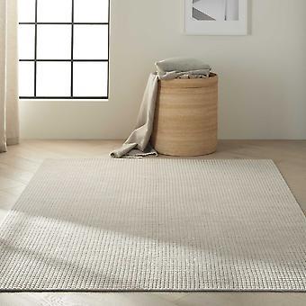 Calvin Klein Pretoria Quilted Designer Wool Rugs Ck890 In Beige